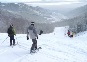 ski et surf rogné Croix de Bauzon